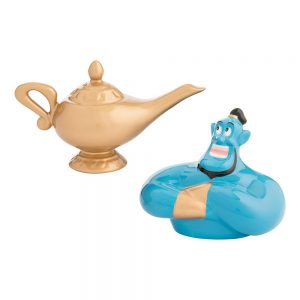 Aladdin Genie and Lamp Salt and Pepper Shakers
