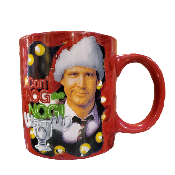 Christmas Vacation Hog the Nog Mug
