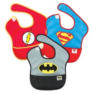 DC Comics 3pk Baby Bib Set