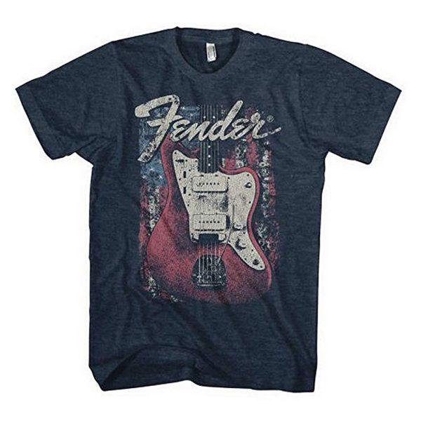 Fender Red Guitar