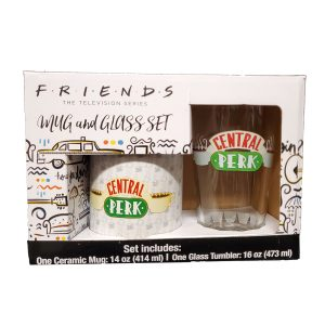 Friends Central Perk Pint and Mug Set