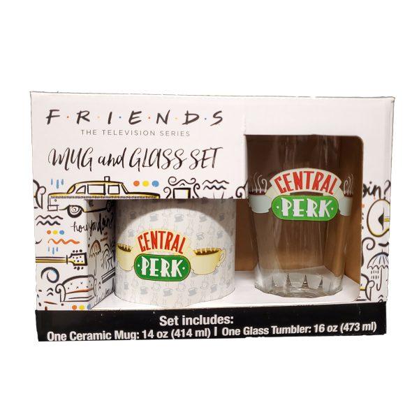 Friends Central Perk Pint and Mug Set
