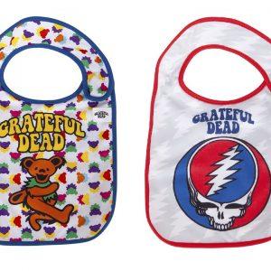 Grateful Dead 2pk Baby Bibs