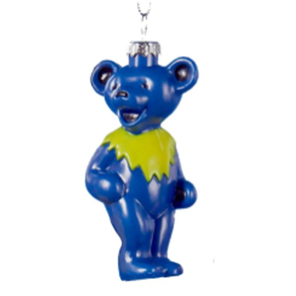 Grateful Dead Blue Bear Ornament