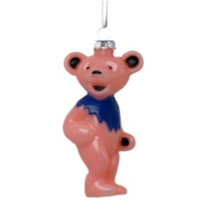 Grateful Dead Pink Bear Ornament