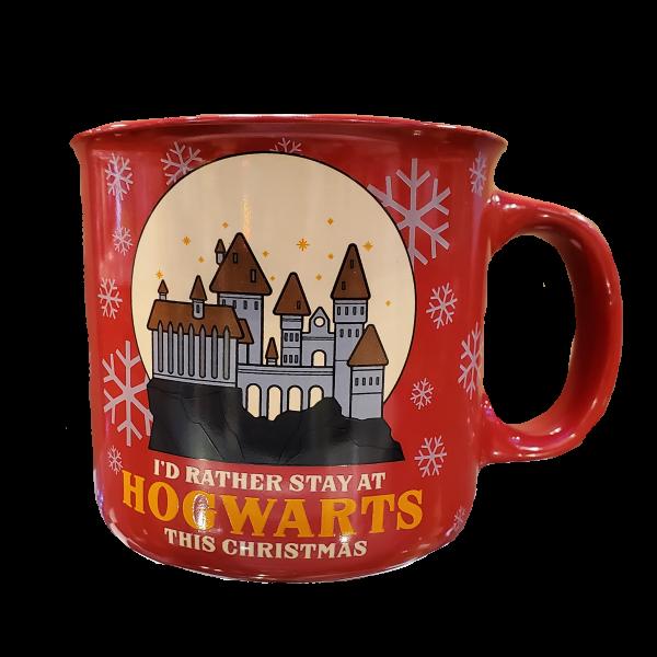Harry Potter Hogwarts Holiday Mug