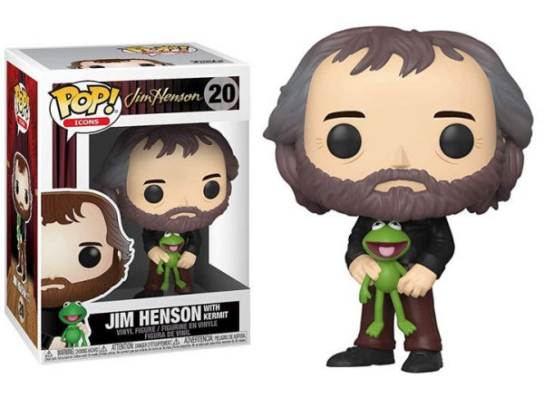 Jim Henson with Kermit Funko Pop Vinyl