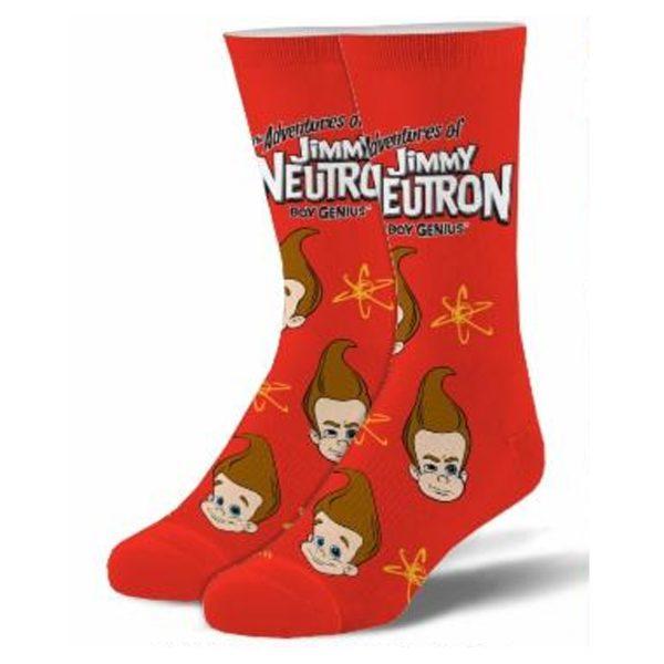 Jimmy Neutron Socks