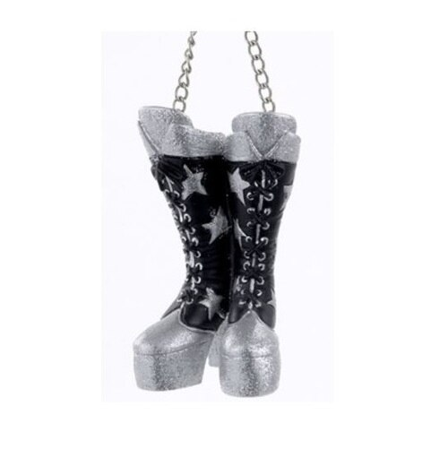 Kiss Starchild Boots Ornament