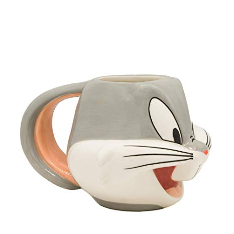 Looney Tunes Bugs Bunny Molded Mug