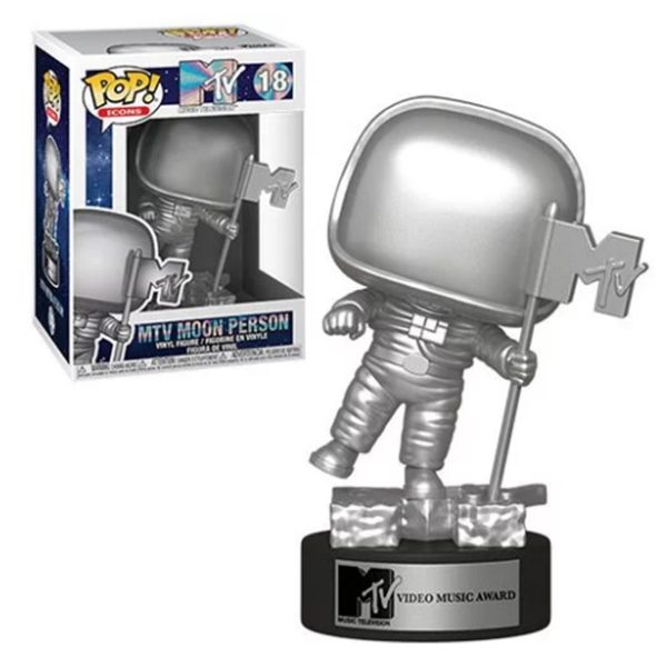 MTV Moon Man Funko Pop Vinyl