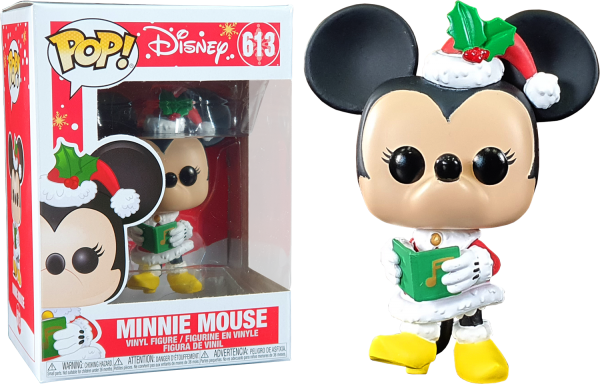 Minnie Mouse Holiday Funko Pop Vinyl