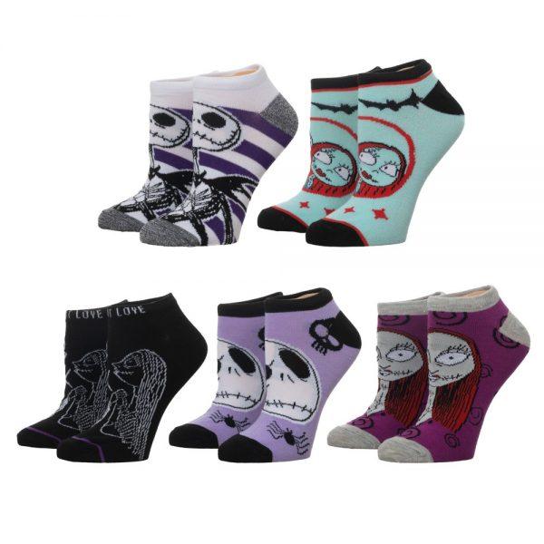 Nightmare Before Christmas 5pk Socks
