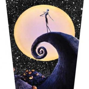 Nightmare Before Christmas Glitter Travel Mug
