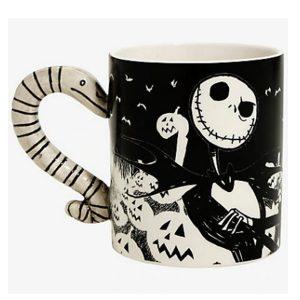 Nightmare Before Christmas Snake Handle Mug