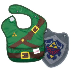 Nintendo Zelda Baby Bib with Shield Cape