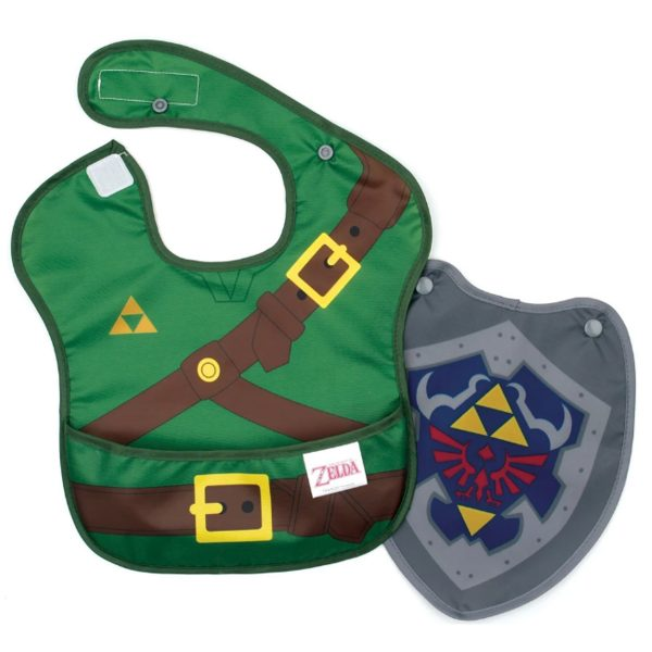 Nintendo Zelda Baby Bib with Shield Cape
