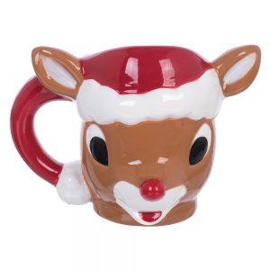 Rudolph Molded Mug