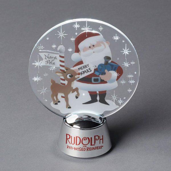 Rudolph and Santa Holidazzler
