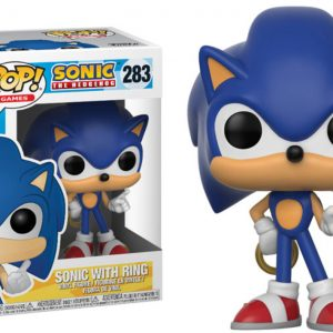 Sonic with Ring Funko Pop Vinyl