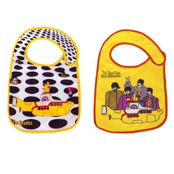 The Beatles 2pk Baby Bibs