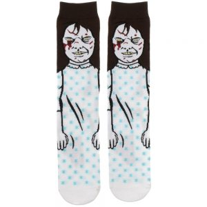 The Exorcist Regan Socks