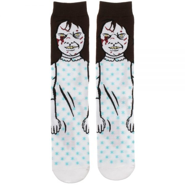 The Exorcist Regan Socks