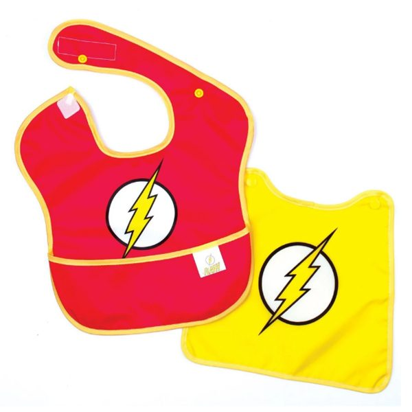 The Flash Baby Bib with Cape