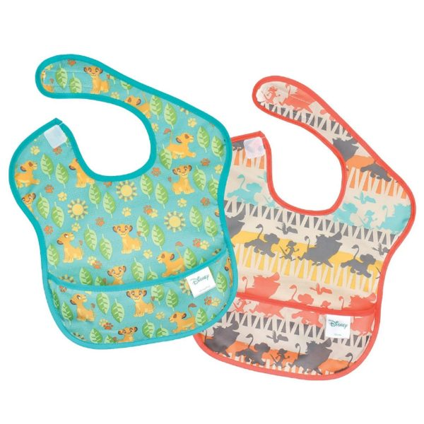 The Lion King 2pk Baby Bibs