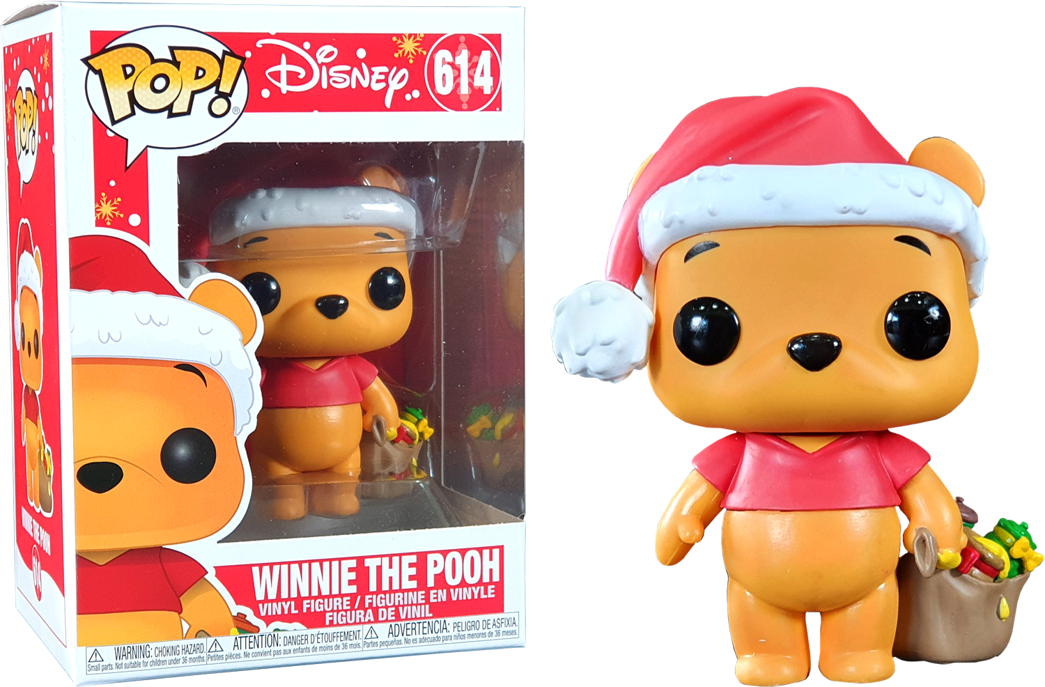Winnie The Pooh Holiday Funko Pop Vinyl Shop Retro Active And Backstage Pass
