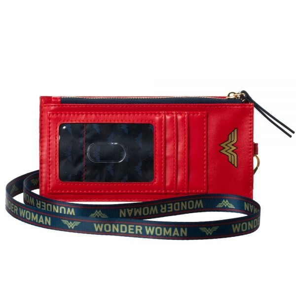 Wonder Woman Phone Wallet with Lanyard