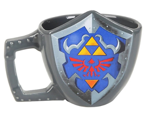Zelda Shield Molded Mug
