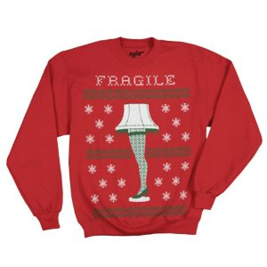 A Christmas Story Faux Ugly Sweater Sweatshirt