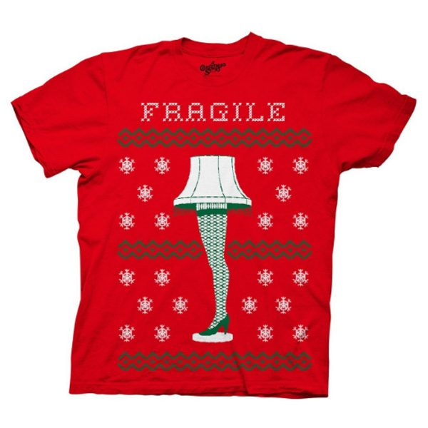 A Christmas Story Fragile Faux Ugly Sweater