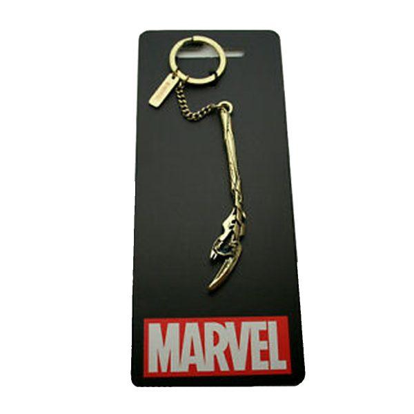 Avengers Loki Staff Keychain