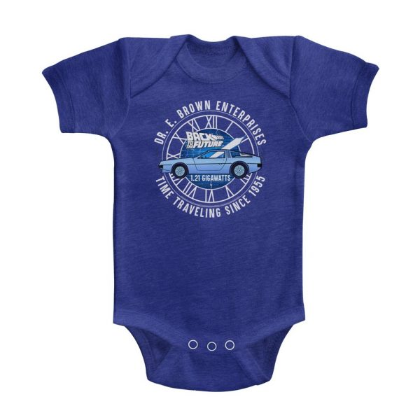 Back to the Future Doc Brown Onesie