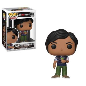 Big Bang Theory Raj Funko Pop Vinyl