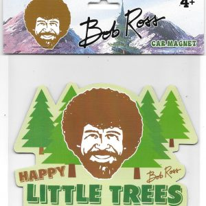 Bob Ross Happy Trees Car Magnet