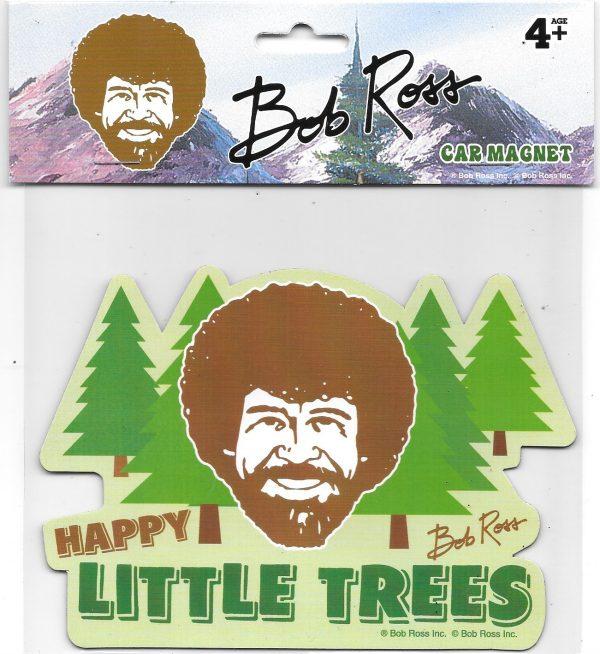 Bob Ross Happy Trees Car Magnet