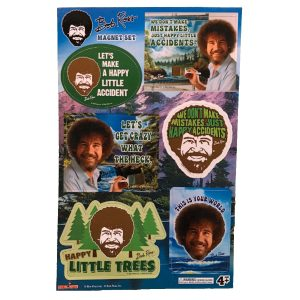 Bob Ross Magnet Set