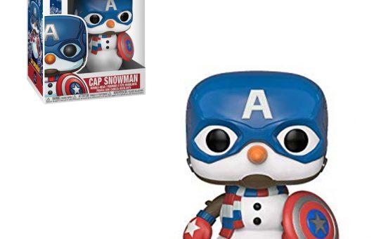 Captain American Snowman Funko Pop Vinyl