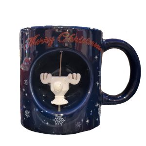 Christmas Vacation Moose Spinner Mug