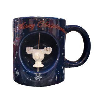 Christmas Vacation Moose Spinner Mug