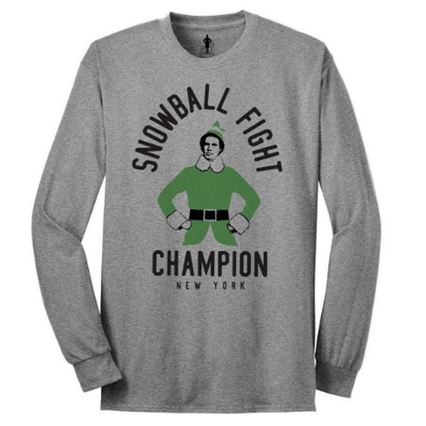Elf Snowball Champion Long Sleeve