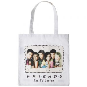 Friends Milkshake Canvas Tote Bag