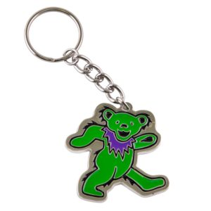 Grateful Dead Dancing Bear Keychain