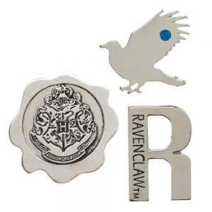 Harry Potter 3pc Ravenclaw Lapel Pin Set