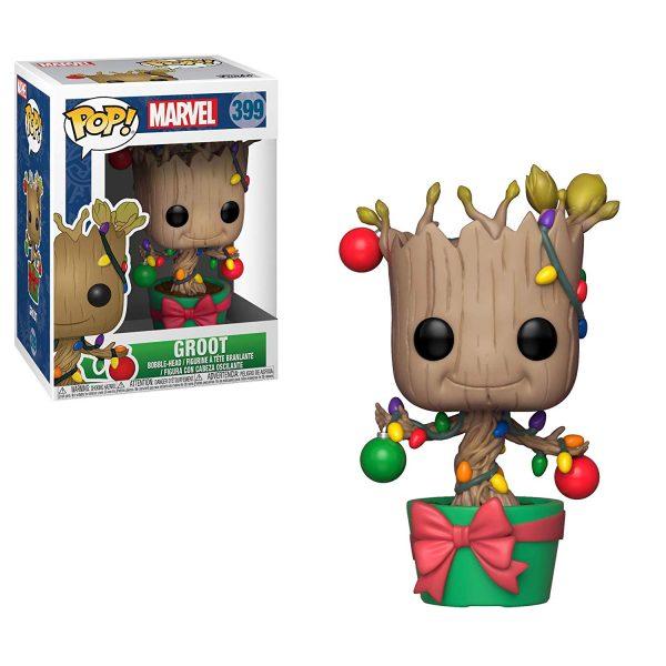 Marvel Christmas Groot Funko Pop Vinyl