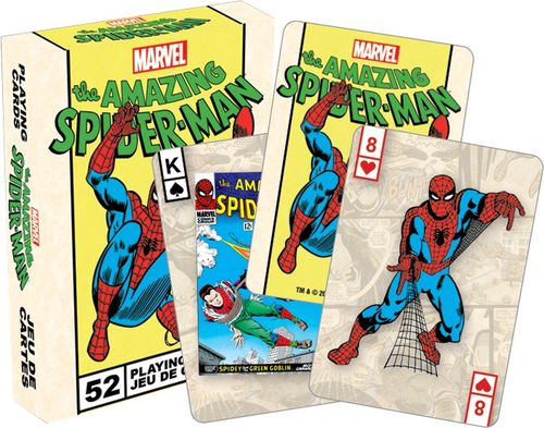 Marvel Spiderman Playing Cards