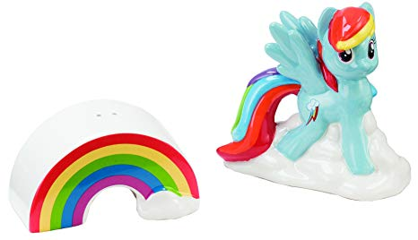 My Little Pony Salt and Pepper Shakers